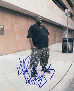 """Killer Mike - American Rapper - """"Run The Jewels"""" - Autographed 8x10 Photograph found on Endorfyn."""