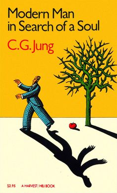 C. G. Jung - Modern Man in Search of a Soul, c. 1979  Artwork by John Alcorn