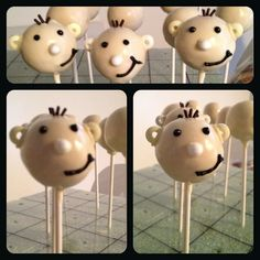 Diary of a wimpy kid cakepops