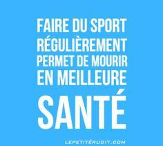 citation sport ///// Bien dans le style de Woody Allen...
