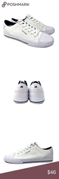 Tommy Hilfiger Men's Pax2 Sneakers item# 273048411053  100% Authentic Tommy Hilfiger!  Buy with confidence!  Features: • Brand: Tommy Hilfiger • Color: White • Model Tommy Hilfiger sneakers PAX2 • Size: 9 M • Imported  Please feel free to ask any questions. Happy shopping! Tommy Hilfiger Shoes Sneakers