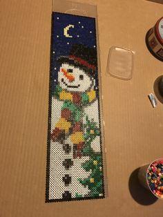 Christmas Toys, Christmas Decorations, Xmas, Pony Bead Patterns, Beading Patterns, Christmas Perler Beads, Pony Beads, Hama Beads, Banners