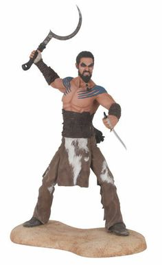 Game of Thrones Figur Khal Drogo PVC Statur 21 cm