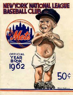 1962 New York Mets Year Book