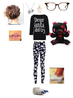 """Lazy Christmas Day (Nathaly)"" by natsukidragneel ❤ liked on Polyvore featuring Loquet and Ray-Ban"