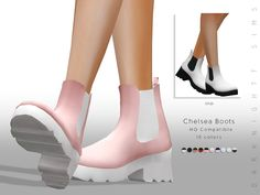 Check out these punk rock stylish boots created by DarkNighTt! Sims 4 Cc Packs, Sims 4 Mm Cc, Maxis, Sims 4 Mods Clothes, Sims 4 Clothing, Sims 4 Cas Mods, Pelo Sims, Sims 4 Collections, Sims 4 Cc Shoes