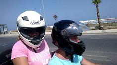 На мотоцикле с мужем