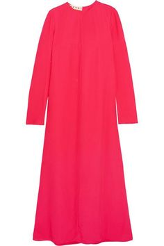 Marni - Ryon Crepe Maxi Dress - Pink - IT46