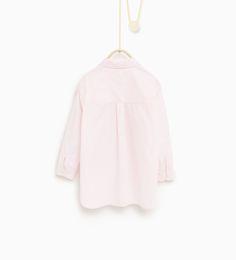 ZARA - BØRN - Skjorte med lapper foran