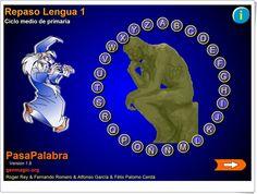 Pasapalabra de Lengua de 4º de Primaria (Genmagic.org)