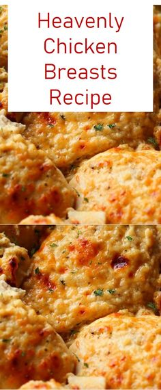 This is Easy Heavenly Chicken Breasts Recipe. This recipe is easy delicious and healthy. The post Easy Heavenly Chicken Breasts Recipe appeared first on Tasty Recipes. Yummy Chicken Recipes, Meat Recipes, Crockpot Recipes, Cooking Recipes, Healthy Recipes, Recipe Chicken, Recipes With 2 Chicken Breasts, Dinner Recipes, Heavenly Chicken Recipe