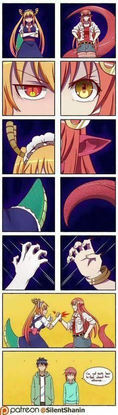 Dari-kun y Kobayashi-san no van a salir bien de esto
