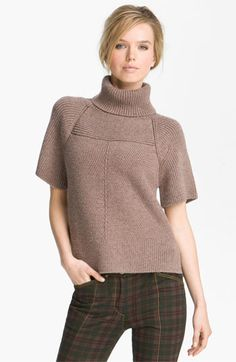 10 Crosby Derek Lam Mixed Rib Turtleneck Sweater available at #Nordstrom