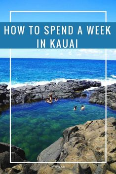 Where to go, what to do, and how to spend a week in Kauai. This tropical island has a lot of activities and tours to offer. Find a week's itinerary here.