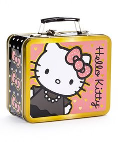 Loving this Hello Kitty Polka Dot Lunchbox on #zulily! #zulilyfinds