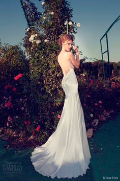nurit hen 2013 wedding dress open back