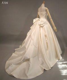 シルク ミカドシルク ウェディングドレス