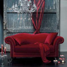 Velvet couch omg