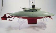 Antique German Tin Toy Submarine Wind Up Toy Bing Fleischmann Carette Arnold   eBay