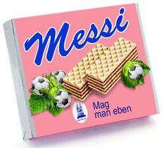 Nach der gestrigen Lehrstunde von Barca schicken wir was süßes zum Trösten nach Mailand ;) Messi, Food, Essen, Meals, Yemek, Eten