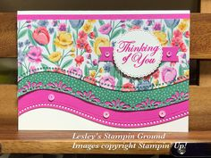 Making Greeting Cards, Greeting Cards Handmade, Wink Of Stella, Stamping Up Cards, Flower Cards, Homemade Cards, I Card, Making Ideas, Your Cards