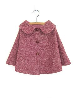 adorable vintage wool cape by Etsy's OneMe