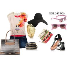 A Place in the Sun, Sponsored by Nordstrom, created by mimi-gan on Polyvore
