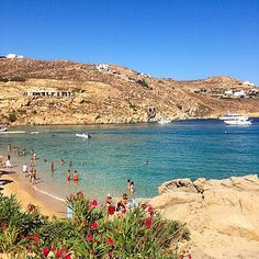 #wanderlust #mykonos #greece #beautiful #beach #eurotrip14 #picoftheday