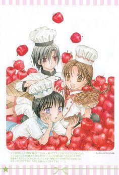 Tachibana Higuchi, Gakuen Alice, Graduation - Gakuen Alice Illustration Fanbook, Mikan Sakura, Natsume Hyuuga