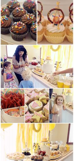 Sophie & Sienna's Vintage Circus Birthday Party - At Home With Natalie