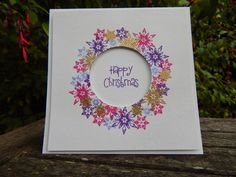 Uniko studio stamp set Craft-E-Place Cardmaking And Papercraft, Purple Christmas, Clear Stamps, I Card, Snowflakes, Stamping, Christmas Cards, Scrap, Card Making