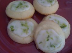 KEY LIME SHORTBREAD  COOKIES Recipe