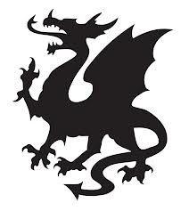 simple welsh dragon logo free vector jonathan hurley