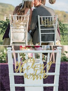 Pink and fuchsia outdoor wedding ideas. #weddingchicks Captured By: Jordan Weiland Photography http://www.weddingchicks.com/2014/10/07/pink-and-fuchsia-outdoor-wedding-ideas/