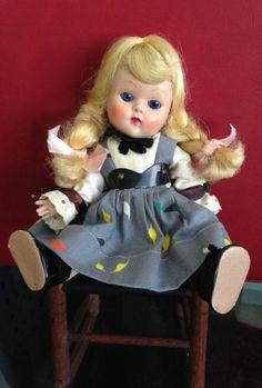 1953 Strung VOGUE GINNY doll with rocker