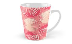 Pink Tropical Coins #redbubble #decor #buyart by designdn mugs