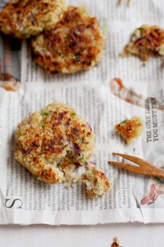garlic + thyme quinoa patties
