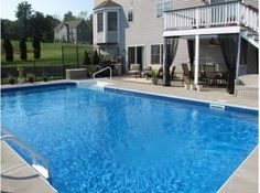 LAYOUT=backyard pool - traditional - pool - boston - emdaigle