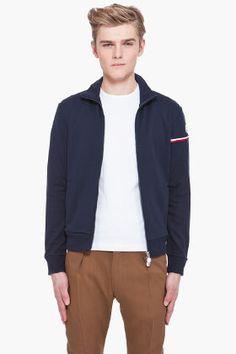 #Moncler #Navy #Flag #Jacket #menswear #clothing @SSense $290