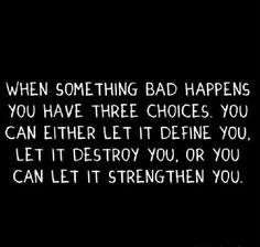 Three Choices..