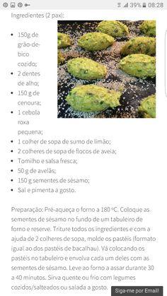 Pastéis de grão com sementes de girassol by nutriente secreto