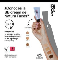 Natura Cosmetics, Faces, The Face, Face