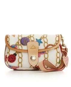Dooney & Bourke Handbag, Charming Flap Wristlet.
