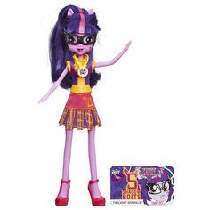 MLP Equestria Girls Friendship Games Twilight Sparkle School Spirit Doll