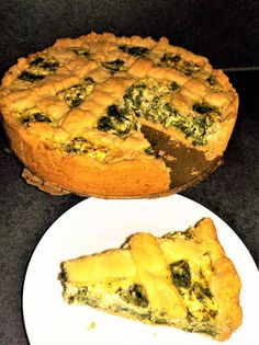 Quiche(Spenótos-juhtúrós pite recept) Empanadas, Quiches, Food And Drink, Drinks, Breakfast, Drinking, Morning Coffee, Beverages, Drink
