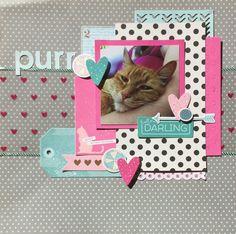 Purr - Scrapbook.com - layout idea