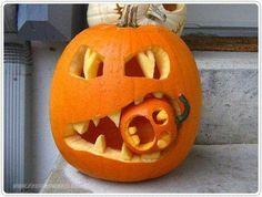 Tolle Idee für Halloween.