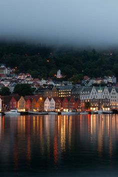 Bergen, Hordaland, west coast of Norway. I fell completely head over heels in love with Bergen! Places Around The World, Travel Around The World, Around The Worlds, Places To Travel, Places To See, Travel Destinations, Hidden Places, Holiday Destinations, Lofoten