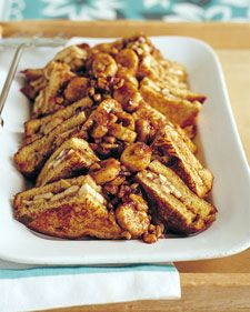 Martha Stewart's Banana Nut French Toast