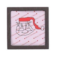 Santa Claus Gift Box #SantaClaus #Santa #Holiday #Christmas #MerryChristmas #Gift #Keepsake #Trinket #Jewelry #Box